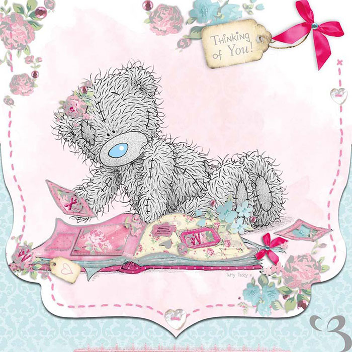 Thinking Of You Me To You Bear Card A01VD003 Me To You