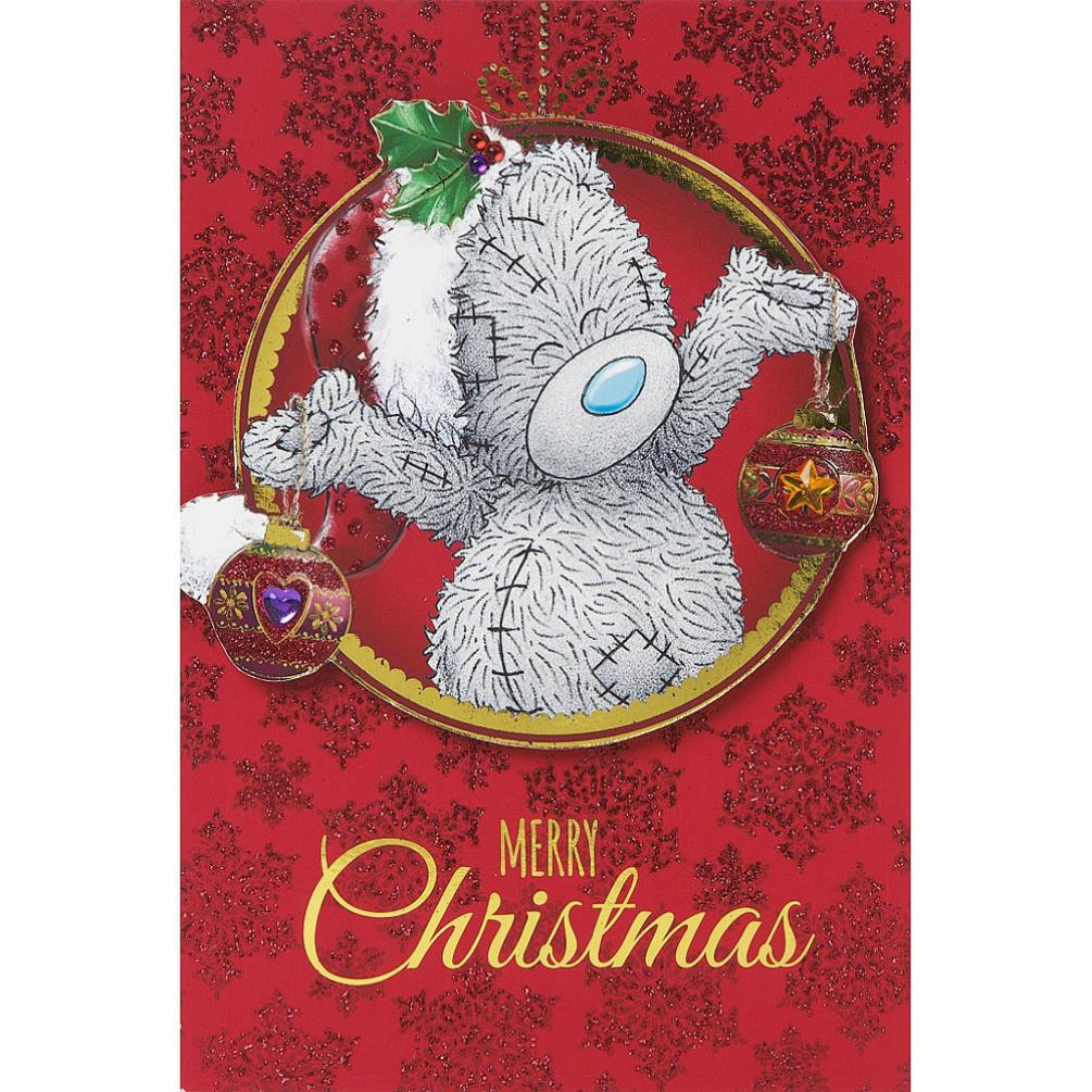 Tatty Teddy Holding Decorations Me To You Bear Christmas