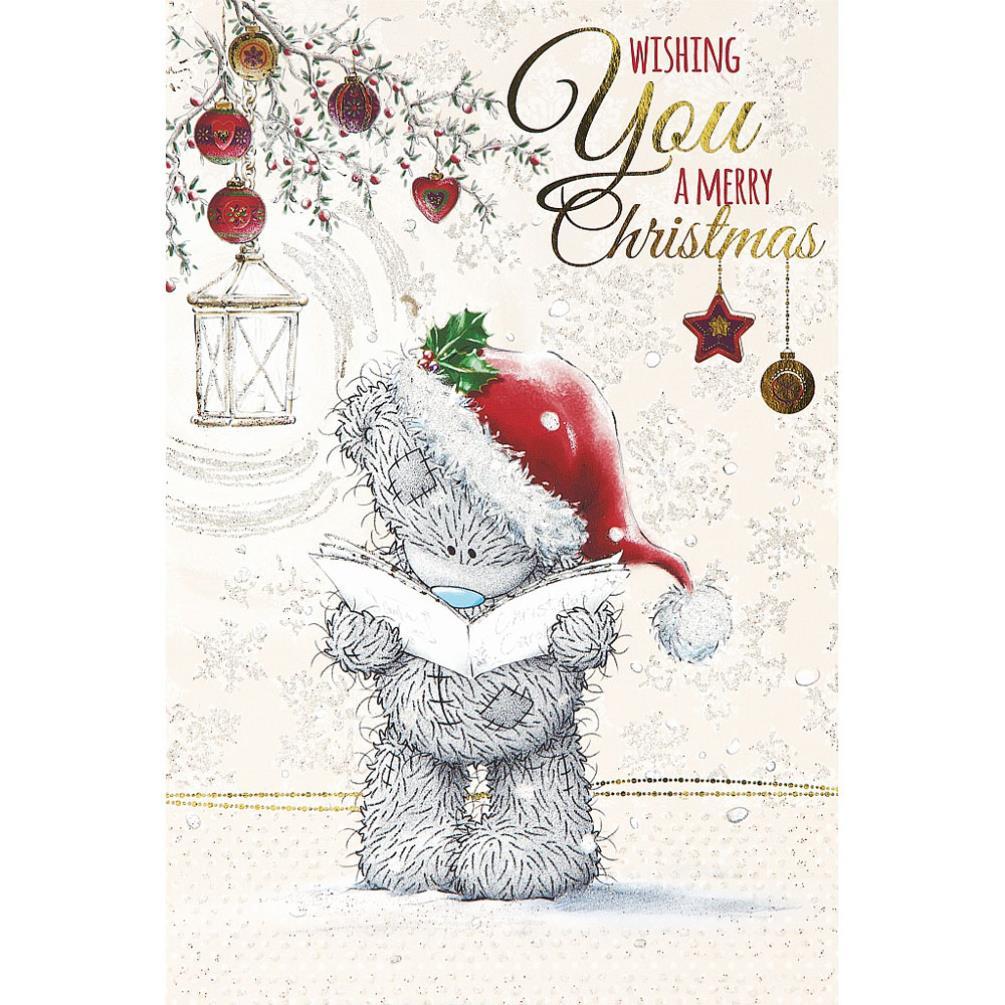Tatty Teddy Reading Carols Me To You Bear Christmas Card