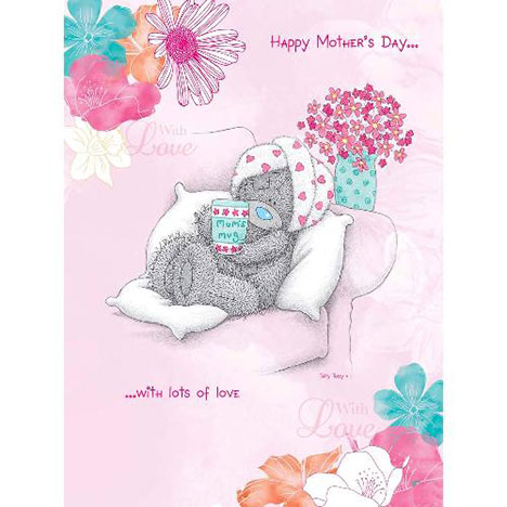 Happy Mothers Day With Love Me To You Bear Card M01LS013
