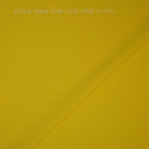 Double crepe Pura Lana – giallo