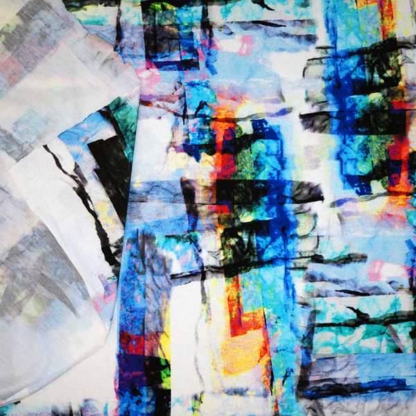 jersey astratto multicolor