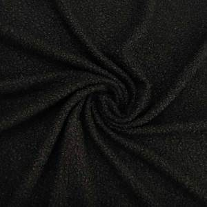 Tessuto bouclè – nero