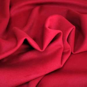 Tessuto cappotto – rosso fuoco
