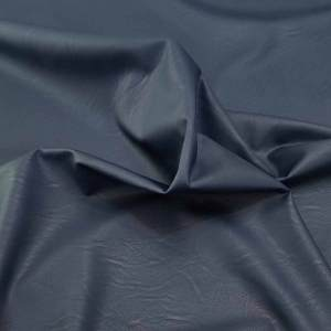 Ecopelle stretch – blu scuro