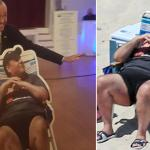 Phil Murphy Poses With Cutout Of Chris Christie On Beach Chair Metro Us