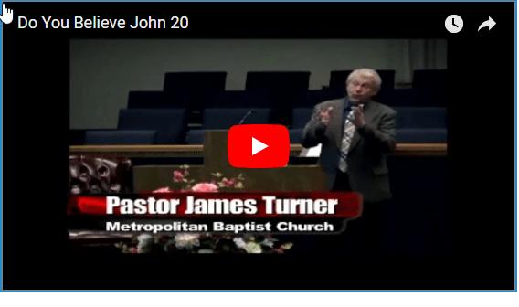 Do You Believe – John 20:24-31
