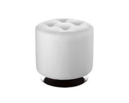 DOMANI SWIVEL OTTOMAN SMALL – SNOW