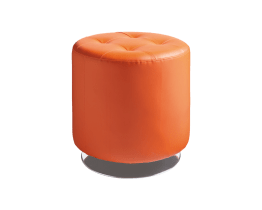 DOMANI SWIVEL OTTOMAN SMALL – ORANGE