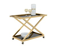 MARVEL BAR CART – GOLD