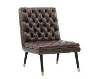 WAYNE CHAIR – CHESTNUT BROWN LEATHER