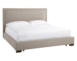 MULBERRY BED – KING – GREY FABRIC