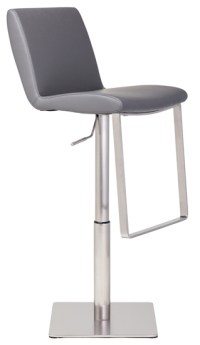 Lewis Adjustable Stool White