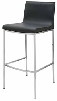 Colter Bar Stool Dark Grey