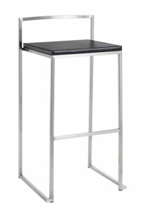 Genoa Bar Stool Black