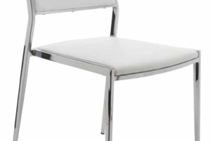 Aaron Dining Chair White