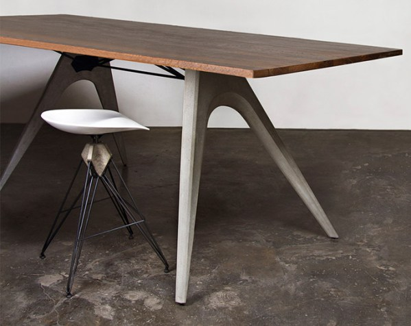 Kahn Dining Table Seared