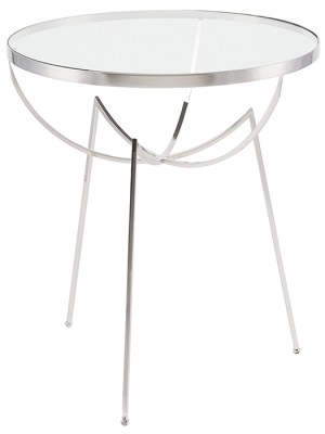 Areille Side Table Clear