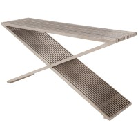 Amici Prague Console Table Silver