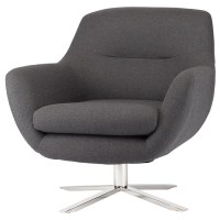 Greta Occasional Chair Dark Grey