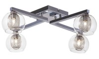 Estelle 4 Ceiling Lighting Clear
