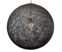 String 24 Pendant Lighting Black