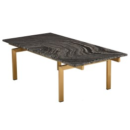 Louve Coffee Table Black