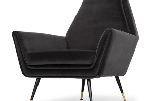 Vanessa Occasional Chair Shadow Grey