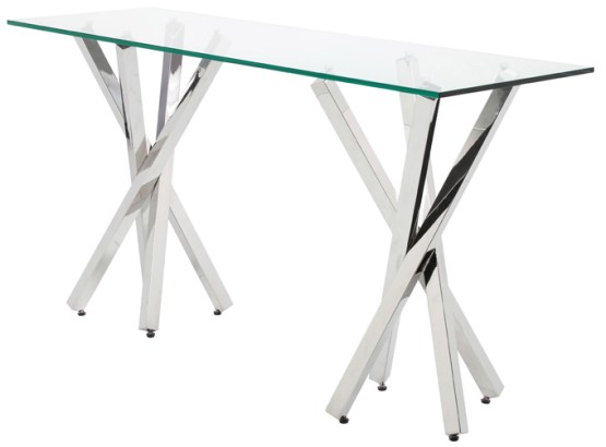 Francois Console Table Clear