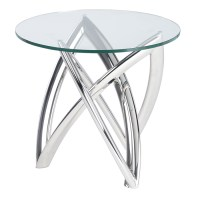 Martina Side Table Clear