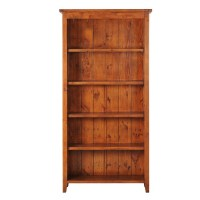 Irish Coast Bookcase – African Dusk