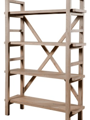 Tuscan Spring Small Wall Unit – Scrubbed Teak