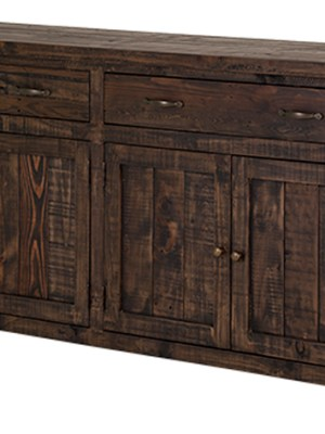 Alfresco Large Sideboard – Smokey Brown