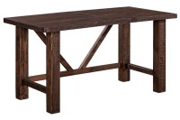 Alfresco Large Dining Table – Smokey Brown