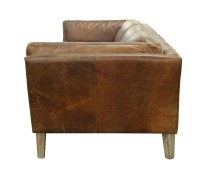 Cartwell Sofa-Distressed Brown Leather