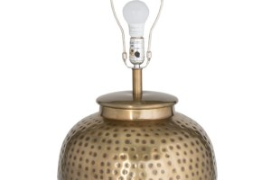 Charm Brass Table Lamp