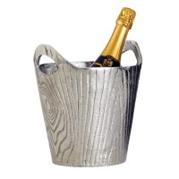 Aluminum Bark Wine Bucket