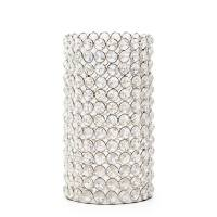 Lux Glass Crystal 9″ Hurricane Candle Holder