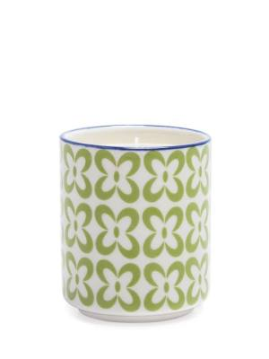 Kiri Wax Filled Porcelain Votive Candle Cup – Pansy
