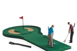Hole In One Tabletop Golf Figure Game