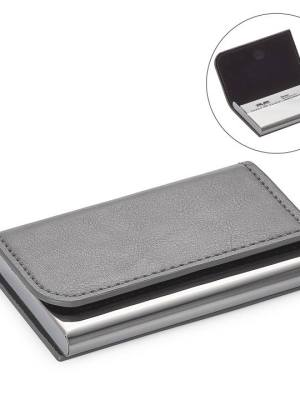 Executive Curve Business Card Holder – Grey