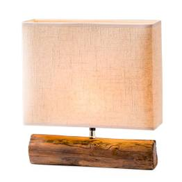 Resin Log Lamp – Brown