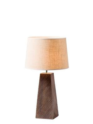 Etched Resin Table Lamp – Short