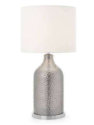 Lustre Beaded Glass Table Lamp – Coffee