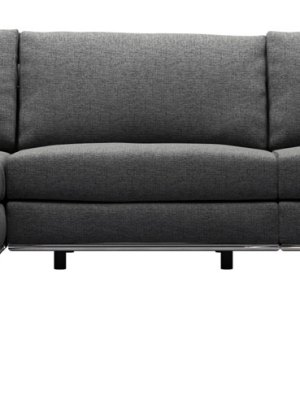 Perry 2 Arm Large Corner Sofa w Ottoman