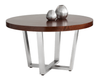 ESTERO ROUND DINING TABLE – 51.5″