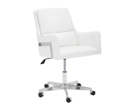 TORRES OFFICE CHAIR – WHITE