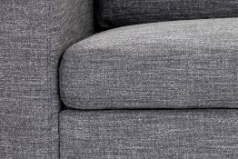 ETHAN SOFA CHAISE – QUARRY FABRIC – RAF