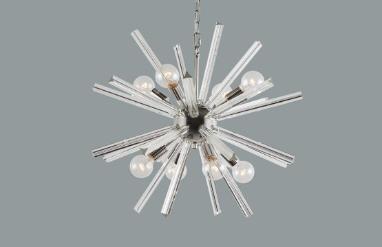 FARADAY – CHANDELIER – SMALL – CLEAR GLASS