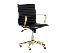JESSICA OFFICE CHAIR – GOLD – BLACK